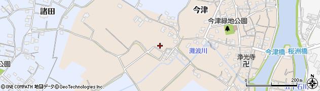 大分県中津市今津360周辺の地図