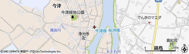 大分県中津市今津252周辺の地図