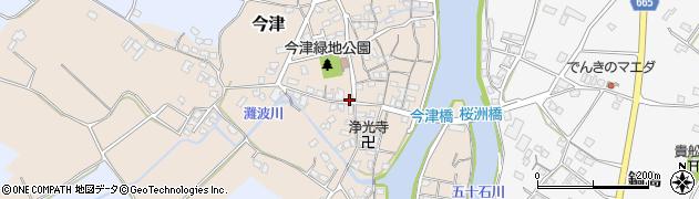 大分県中津市今津281周辺の地図