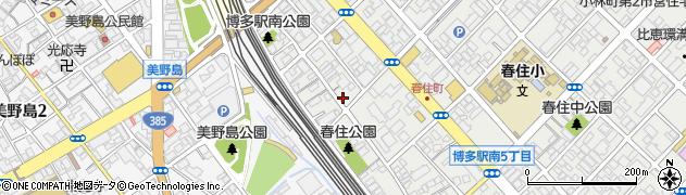 株式会社北洲福岡営業所周辺の地図