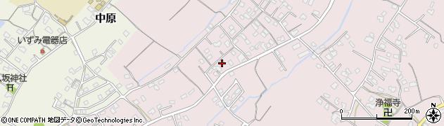 大分県中津市上如水513周辺の地図