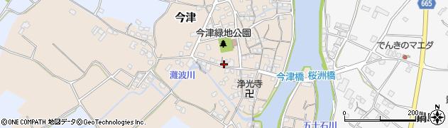 大分県中津市今津284周辺の地図