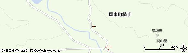 大分県国東市国東町横手2101周辺の地図