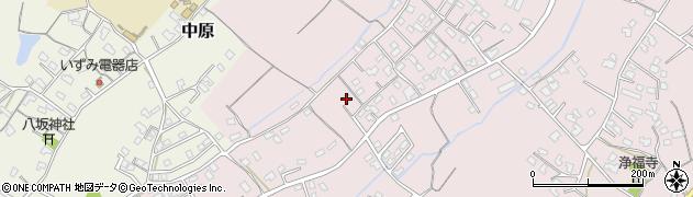 大分県中津市上如水591周辺の地図