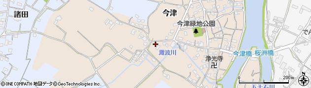 大分県中津市今津528周辺の地図