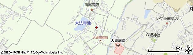 大分県中津市上池永157周辺の地図