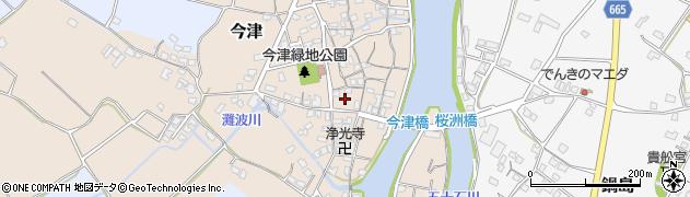 大分県中津市今津279周辺の地図