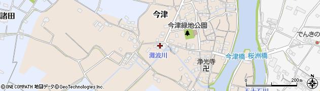 大分県中津市今津530周辺の地図