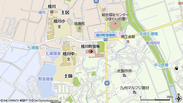 〒820-0600 福岡県嘉穂郡桂川町(以下に掲載がない場合)の地図
