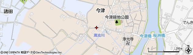 大分県中津市今津424周辺の地図
