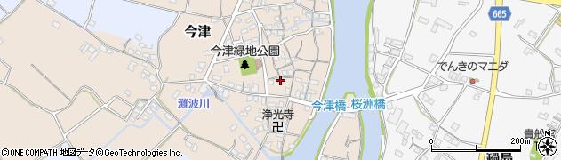 大分県中津市今津277周辺の地図