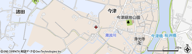 大分県中津市今津354周辺の地図
