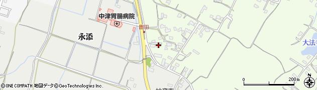 大分県中津市上池永724周辺の地図