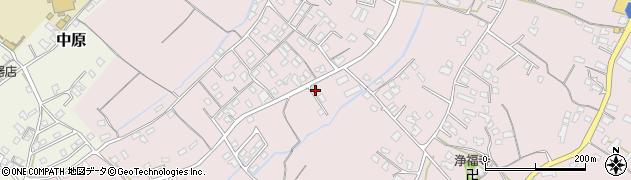 大分県中津市上如水735周辺の地図