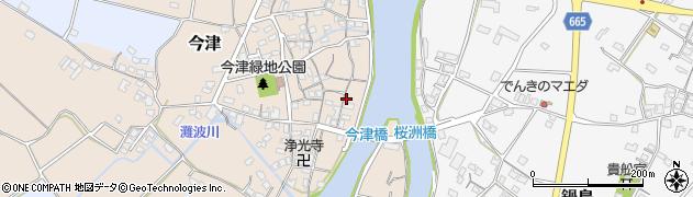 大分県中津市今津180周辺の地図