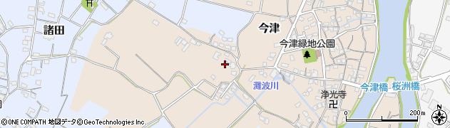 大分県中津市今津351周辺の地図