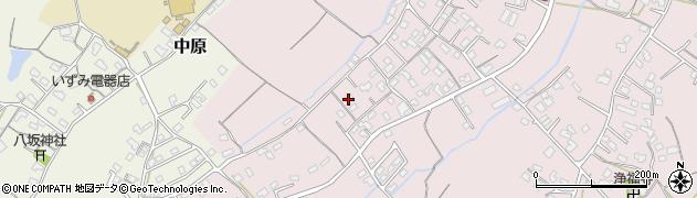 大分県中津市上如水572周辺の地図