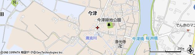 大分県中津市今津298周辺の地図