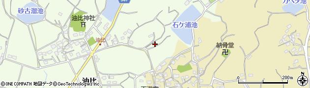 福岡県糸島市油比周辺の地図