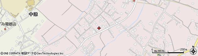 大分県中津市上如水555周辺の地図