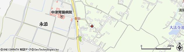 大分県中津市上池永711周辺の地図