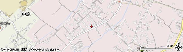 大分県中津市上如水551周辺の地図