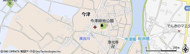大分県中津市今津291周辺の地図