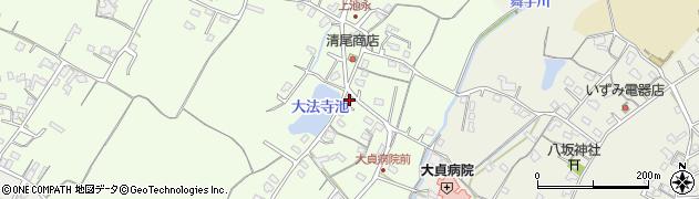 大分県中津市上池永184周辺の地図