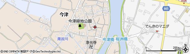 大分県中津市今津229周辺の地図