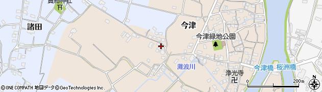 大分県中津市今津353周辺の地図