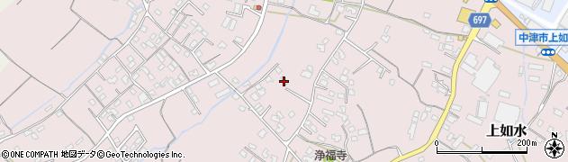 大分県中津市上如水855周辺の地図