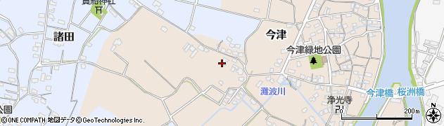 大分県中津市今津348周辺の地図