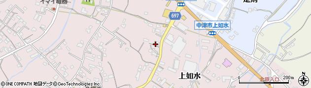 大分県中津市上如水1285周辺の地図