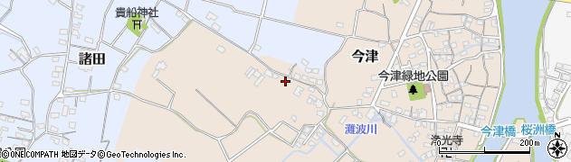 大分県中津市今津344周辺の地図