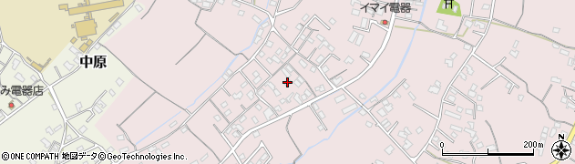 大分県中津市上如水596周辺の地図
