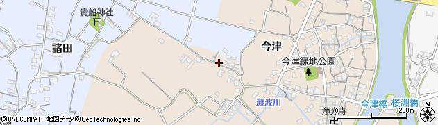大分県中津市今津322周辺の地図