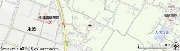 大分県中津市上池永697周辺の地図