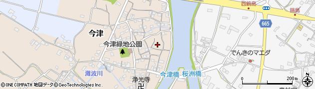 大分県中津市今津203周辺の地図