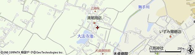 大分県中津市上池永196周辺の地図
