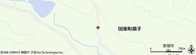 大分県国東市国東町横手2234周辺の地図