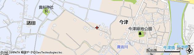 大分県中津市今津325周辺の地図