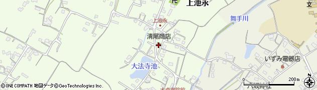 大分県中津市上池永448周辺の地図
