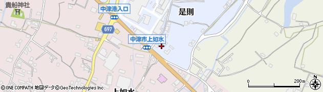 大分県中津市是則1153周辺の地図