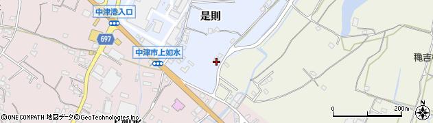 大分県中津市是則1167周辺の地図