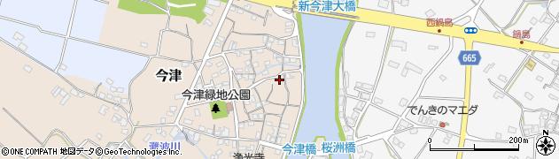 大分県中津市今津244周辺の地図