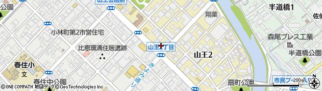 セイブプロセス株式会社 福岡営業所周辺の地図