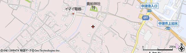 大分県中津市上如水844周辺の地図