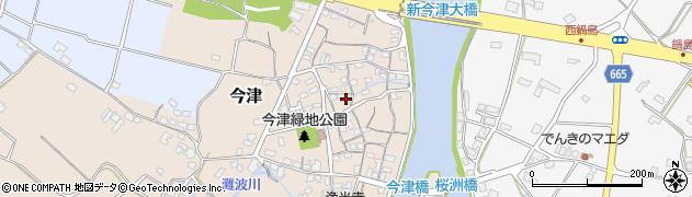 大分県中津市今津171周辺の地図