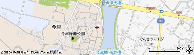大分県中津市今津183周辺の地図
