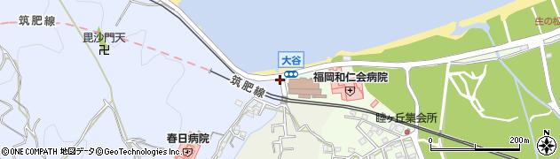 福岡県福岡市西区今宿青木1101周辺の地図